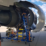 Aircraft Maintenance and Engine Access Stand 07-08 and the IntelligentEngine