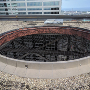 Rooftop Safety System for Decommissioned HVAC Units