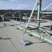 RoofGuard Classic Guardrail Installation