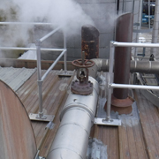 Rooftop Metal Deck Guardrail System