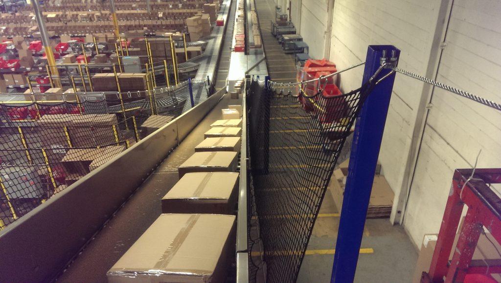 Floor Mounted Conveyor Netting