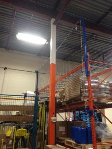 RackGuard Netting with Frame Extensions