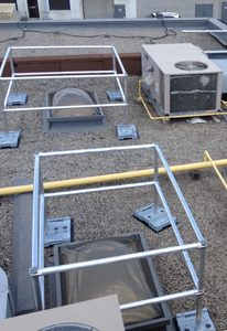 Skylight Guardrail Systems