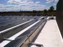 Fall Prevention for Solar Panel Maintenance Crews