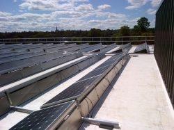 Fall Prevention for Solar Panel Maintenance Crews