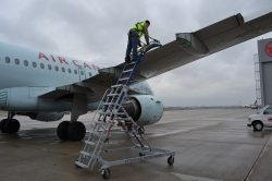 How to work safely at heights in Aviation.