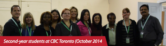 Second-year students at Charis Toronto (October 2014)