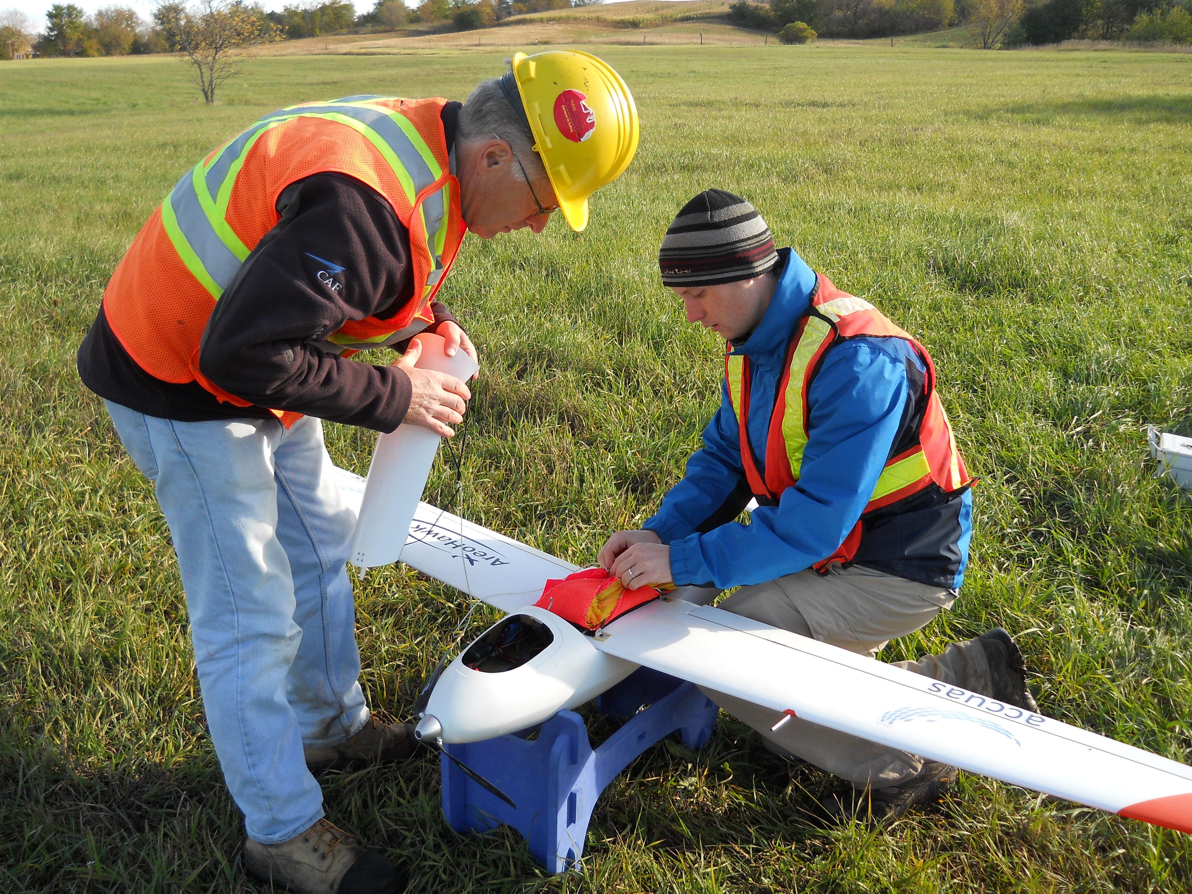 Preparing the UAV for Launch