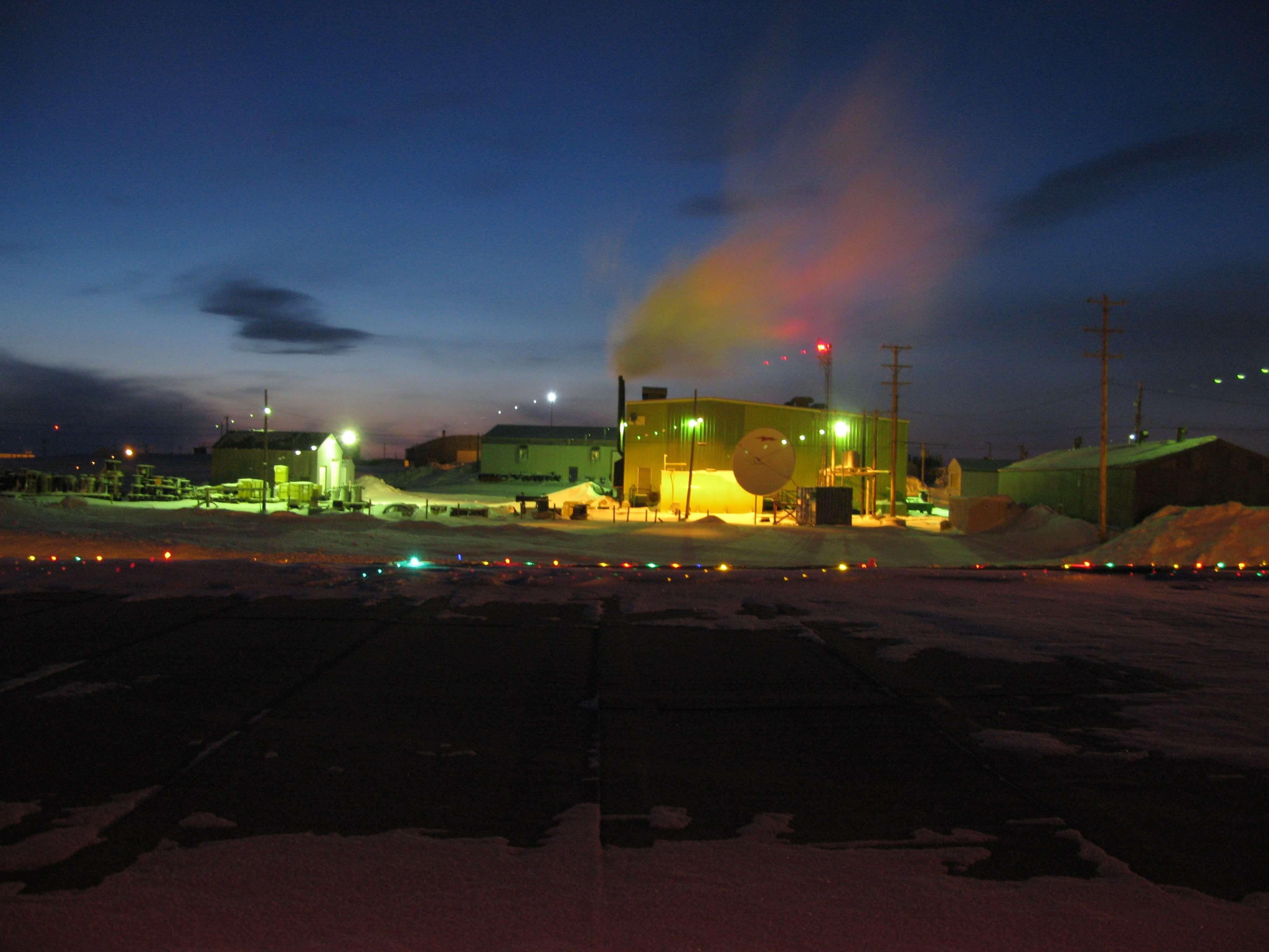 Site in Resolute Bay, Nunavut