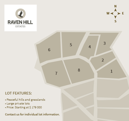 Raven Hill Map