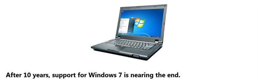 Windows 7 Is Reaching End Of Life
