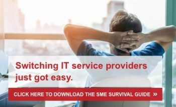 Switching IT Service Providers just got easy.