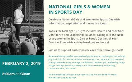 National Girls & Women in Sports Day 2019