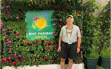 Dr. Anderson Covers BNP Paribas Open!