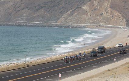 Challenged Athletes Foundation's bike ride along California