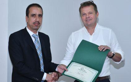 AIT student awarded with IPNI Scholar Award