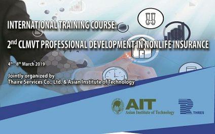 2nd CLMVT Professional Development in Nonlife Insurance