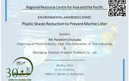 Plastic Waste Reduction to Prevent Marine Litter
