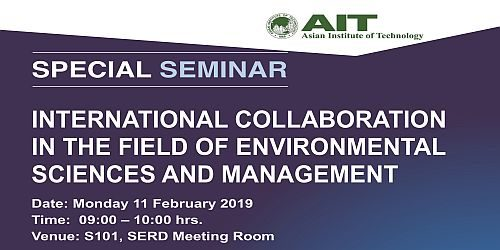 Seminar on International Collaboration in the Field of Environmental Sciences and Management