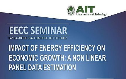 Seminar on Impact of Energy Efficiency on Economic Growth: A non linear panel data estimation