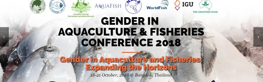 Gender and Aquaculture Fisheries Conference 2018