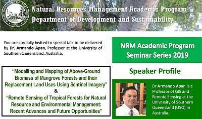 Special Talk by Professor Armando Apan