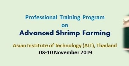 Professional Training Program on Advanced Shrimp Farming