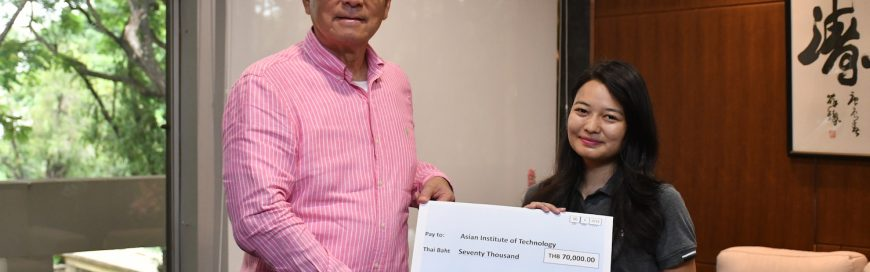 First Winner of Lawsgroup Charity Student Exchange Scholarship