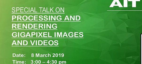 Talk on Processing and Rendering Gigapixel Images and Videos