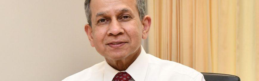 Q & A with Professor Deepak Sharma, Vice President for Academic Affairs