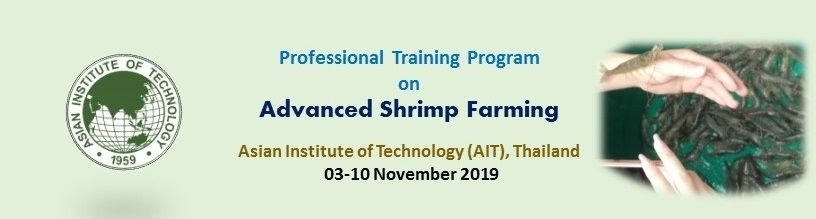 Professional Training Program on Advanced Shrimp Farming