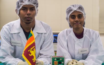 AIT Alumna Stars in Sri Lanka's First Satellite Launch