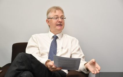 Q & A with Mr. Russell Bruce Rein, Vice President (Administration)