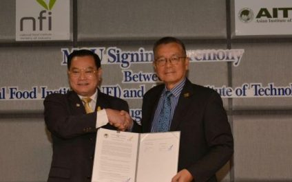 AIT Signs MoU with the National Food Institute for Joint Research