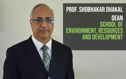 Prof. Shobhakar Dhakal appointed as Dean of AIT School of Environment, Resources and Development