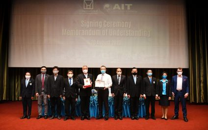 Thailand's National Housing Authority and AIT enter partnership for Technical Cooperation on Building and Housing Technologies