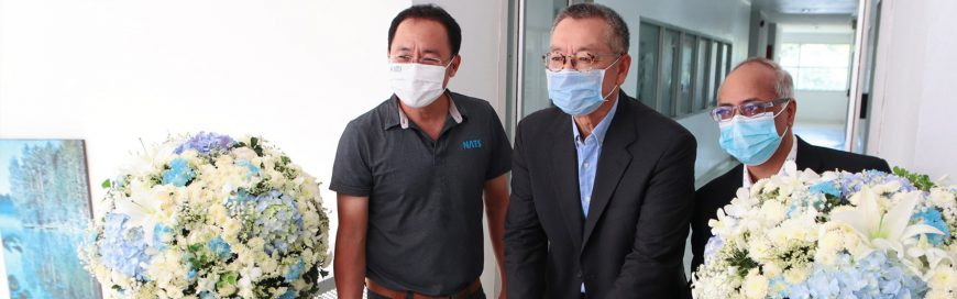 NATS LAB is first certified laboratory for high-concentration wastewater analyses in Thailand