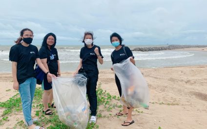 AITians in Action – International Coastal Cleanup Day 2020