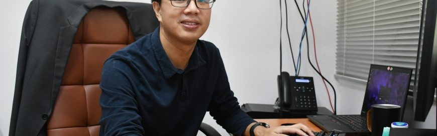 Introducing new ICT faculty, Dr. Chaklam Silpasuwanchai