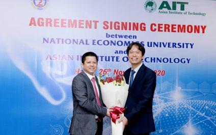 New partnership with National Economics University, Vietnam