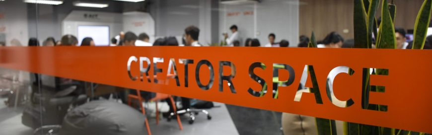 "Donation Converts ""CREATOR SPACE"" in AIT Entrepreneurship Center to Smart Modified Classroom"