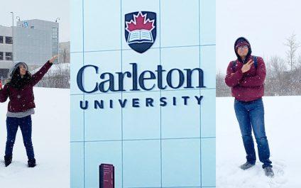 Two Canada-ASEAN SEED Awardees from Myanmar exchange to Carleton University