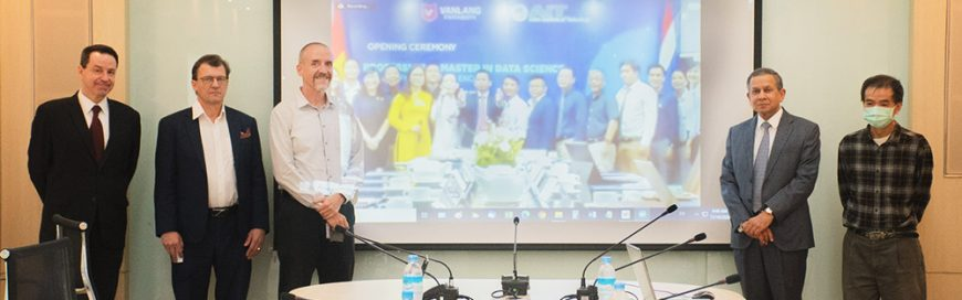 AIT launches Professional Master's Program in Data Science with Van Lang University, Vietnam