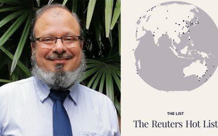 AIT alum named Reuters Hot List climate scientist