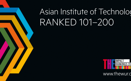 """AIT Ranks 15th Globally by Times Higher Education for SDG 1 """"No Poverty"""" Work"""