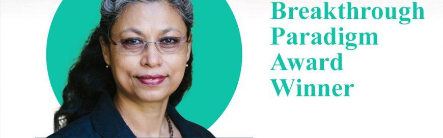 Voice for Global South: Joyashree Roy named 2021 Breakthrough Paradigm Award Winner