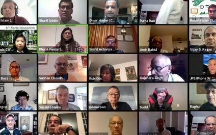 Virtual Reunion Took AITians Down Memory Lane
