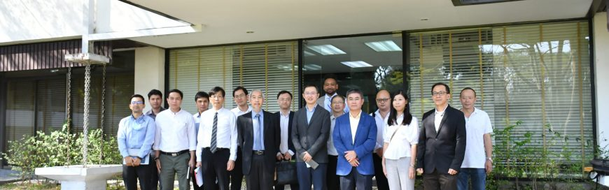 AIT Belt & Road Research Center and China State Construction Engineering Team (CSCE Thailand) Organized the First China-Thailand Highspeed Rail Cooperation Project Meeting