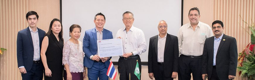 Manit Group donates THB 1.5 million to the AARM Tilapia Hatchery