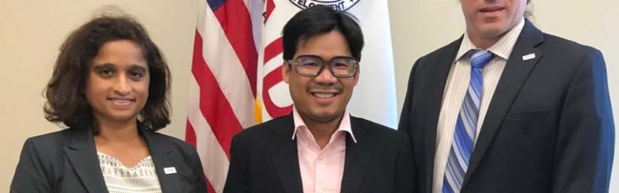 AIT Alum is First Recipient of the Xulhaz Mannan Inclusive Development Award Conferred by USAID